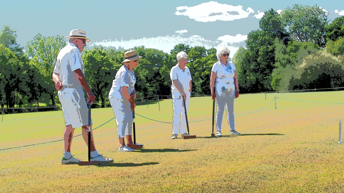 C:\Users\Brian\Documents\My Documents\Dad\Croquet Club\Chairman Newsletter\May 2019\The Durrells Play Croquet.JPG